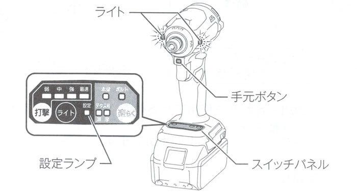 TD171DRGX-操作方法一覧