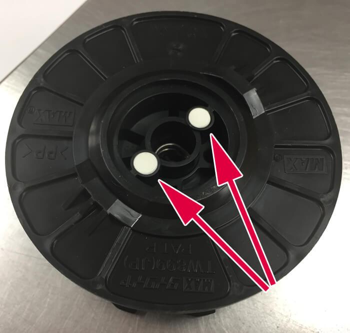 マックス 鉄筋結束機 センサー認証部分