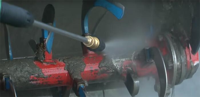 エンジン高圧洗浄機 吐出圧力