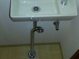 手洗器トラップ