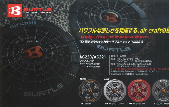 AC221-AC220新作バッテリー