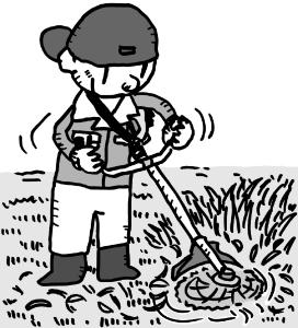 草刈り作業イメージ