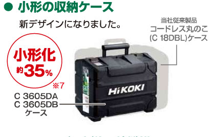 HIKOKI-ケースの小型化