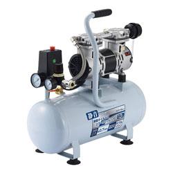 高儀 EARTH MAN エアーコンプレッサー オイルレス 静音タイプ 13L ACP-13SLA