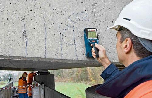 コンクリート探知機-使用イメージ