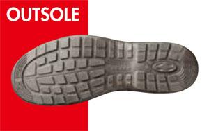 耐滑性のある安全靴