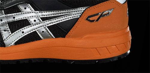 衝撃吸収性に優れる安全靴