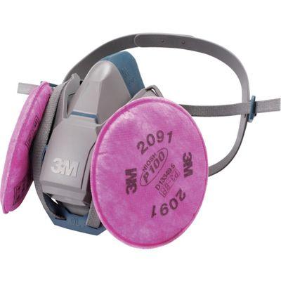 3M 取替式防じんマスク6500QL/2091-RL3 6500QL2091RL3