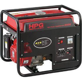 ワキタ オープン型発電機(交流専用) HPG2500