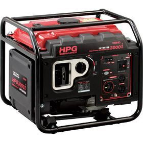 ワキタ 防音型インバーター発電機(交流直流両用) HPG3000I