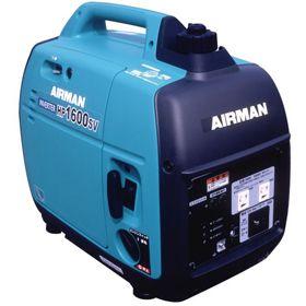 北越工業 AIRMAN 1.6kVA ガソリンエンジン発電機(防音・インバーター) HP1600SV-A1