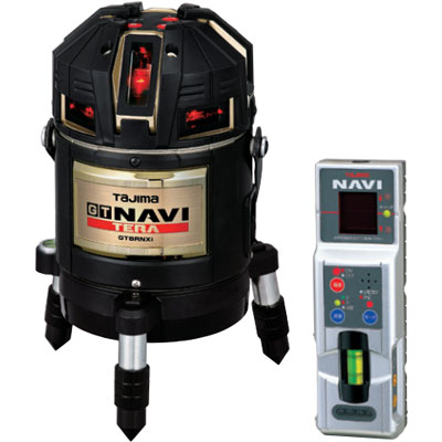 タジマ NAVI(追尾)TERA(高輝度)センサー墨出し器 GT8R-NXi