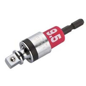 6.35mm六角軸→9.5sq角ドライブ変換アダプター