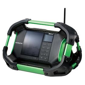HiKOKI(旧 日立工機) コードレスラジオ (バッテリー、充電器別売) UR18DSDL(NN)