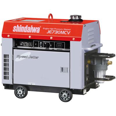 新ダイワ 防音型エンジン高圧洗浄機 サイクロンストレーナタイプ JE730MCV-Y
