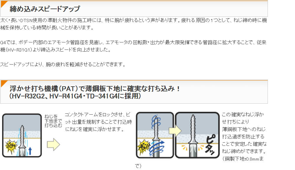 マックス 高圧ターボドライバ 32mm HV-R32G2-G3