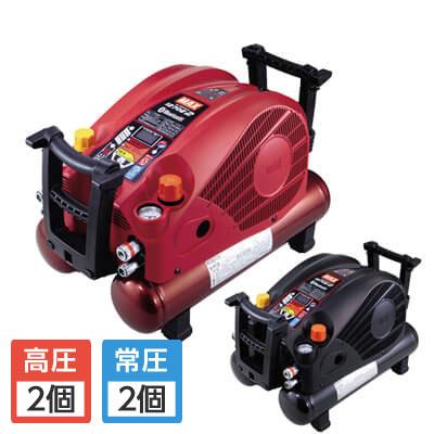 マックス 高圧/常圧エアコンプレッサ 11L 無線接続 AK-HL1270E2