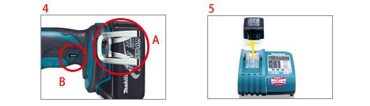 マキタ 18V充電式アングルインパクトドライバー TL061D5