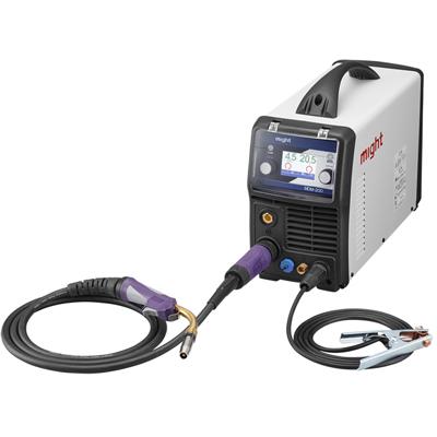 イクラ 100V/200V兼用フルデジタル制御DCパルスTIG溶接機 ライトティグ ISK-LT201F