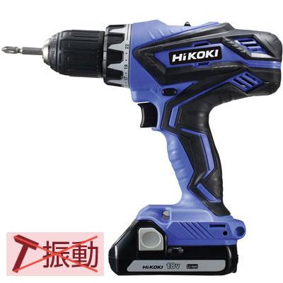HiKOKI(日立工機) 18V 1.5Ah コードレスドライバドリル FDS18DGL