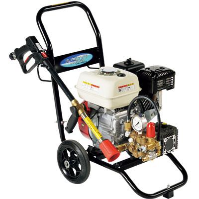 スーパー工業 エンジン式高圧洗浄機(コンパクト&カート型) SEC-3007-2N