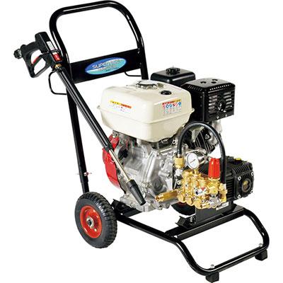 スーパー工業 エンジン式高圧洗浄機(コンパクト&カート型) SEC-1616-2N