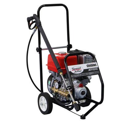 新ダイワ エンジン高圧洗浄機 パイプフレーム JEY1010