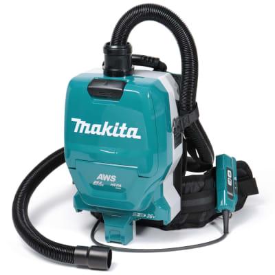 マキタ 36V(18V+18V) 充電式背負集じん機 (バッテリー、充電器別売) 無線連動式 VC265DZ