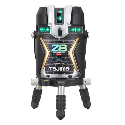 タジマ 電子整準(センサー)式 ブルーグリーンレーザー墨出し器 【充電池/ACタイプ】 ZERO BLUE ZEROBLS-KJC