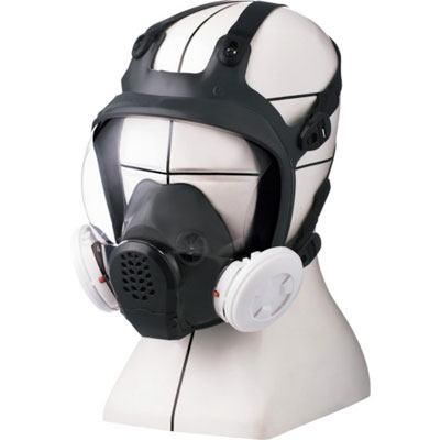 重松 防毒・防じんマスク TW099