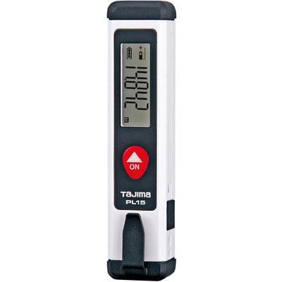 タジマ レーザー距離計 USB充電式 PL15