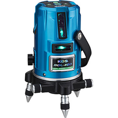 ムラテックKDS リアルグリーンレーザー墨出し器 RGL-400