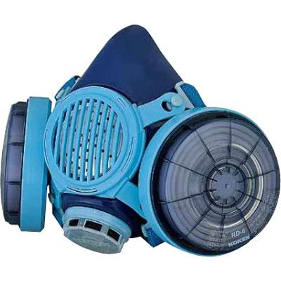 興研 取替え式防じんマスク アルファリングフィルタ RL3 7191DK-03型