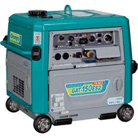 デンヨー 超低騒音型ガソリンエンジン TIG溶接機 GAT-150ES2