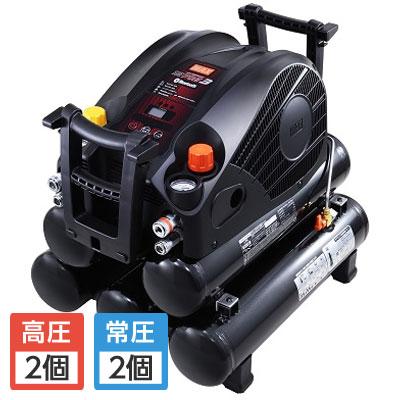 マックス 高圧/常圧エアコンプレッサ 無線接続 27L AK‐HL1270E3ブラック 27L