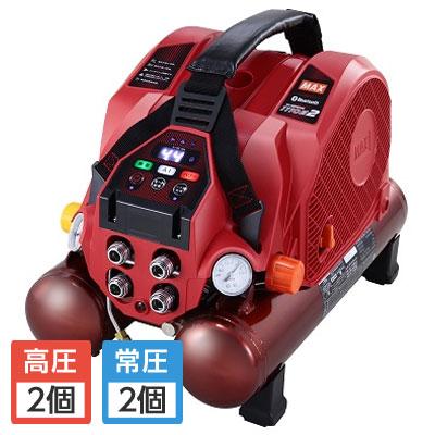 マックス 高圧/常圧エアコンプレッサ 無線接続 8L AK‐HL1110E2