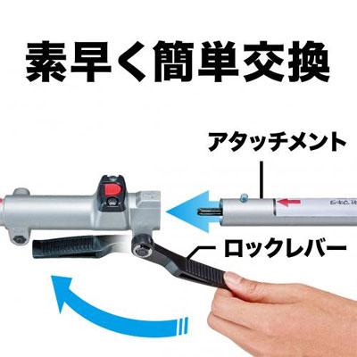 マキタ 40V 充電式スプリット草刈機 MUX01G7
