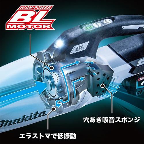 マキタ 40V 充電式クリーナ カプセル式&ワンタッチスイッチ CL001G3